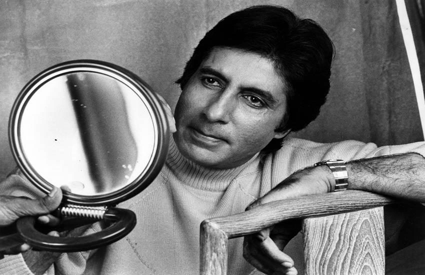 Film star Amitabh Bachchan. Express archive photo